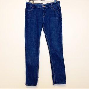 Simply Vera Dark Wash Skinny Jeans Size 12